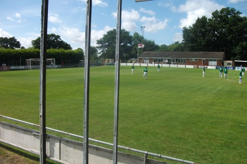 View from the stand